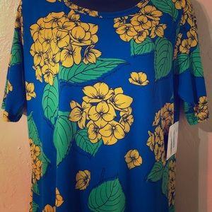 NWT Lularoe Julia Hawaiian Style floral print xl